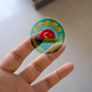 şefaf sticker